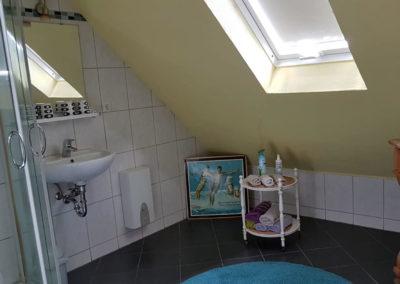 Badezimmer in Ferienwohnung A.73 und Gästehaus Bremen