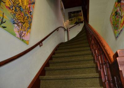 Treppenhaus von Ferienwohnung A.73 und Gästehaus Bremen
