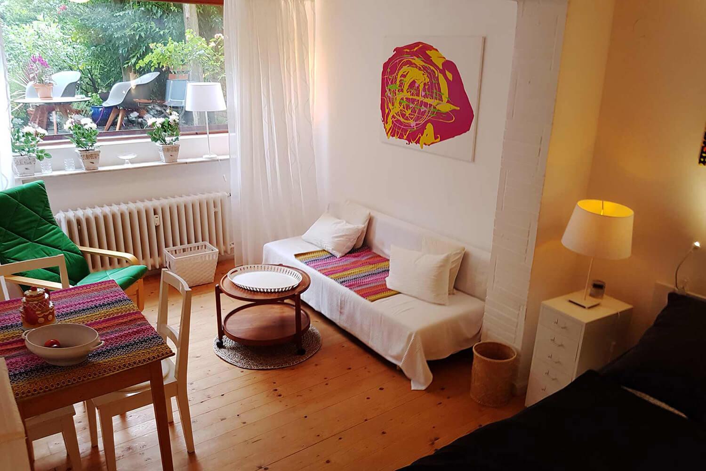 Zimmer in Ferienwohnung Kokon in Bremen