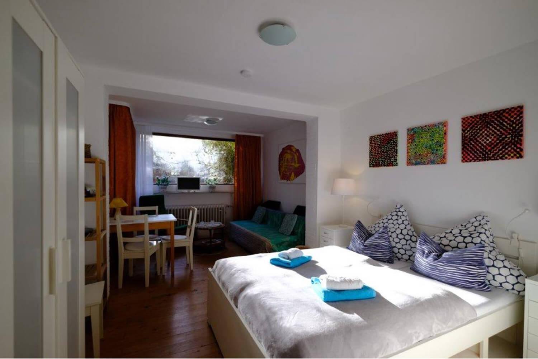 Zimmer in Ferienwohnung Kokon Bremen